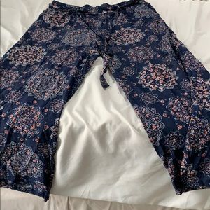 100% rayon pants Torrid size 2